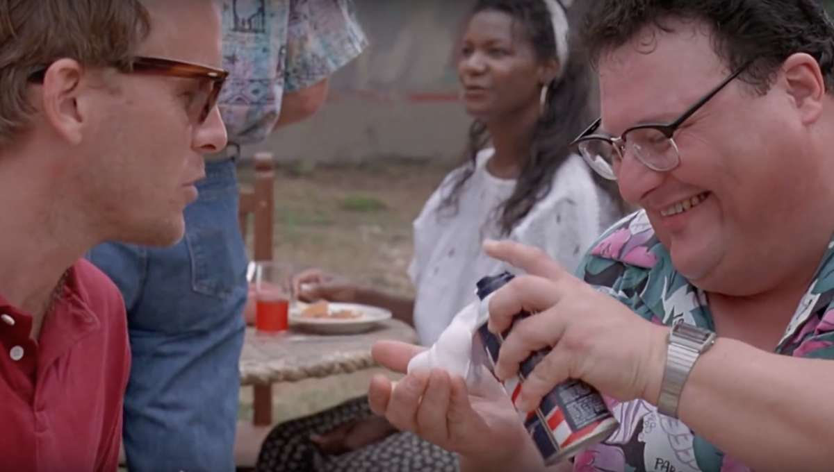 Jurassic Park Dennis Nedry and Cryocan