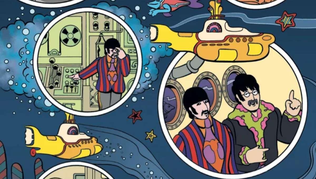 Exclusive Bill Morrison On Titan Comics New The Beatles Yellow