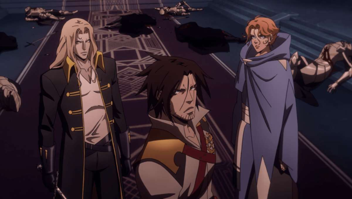 Netflix's Castlevania ends with a speedrun, not with normal video ...