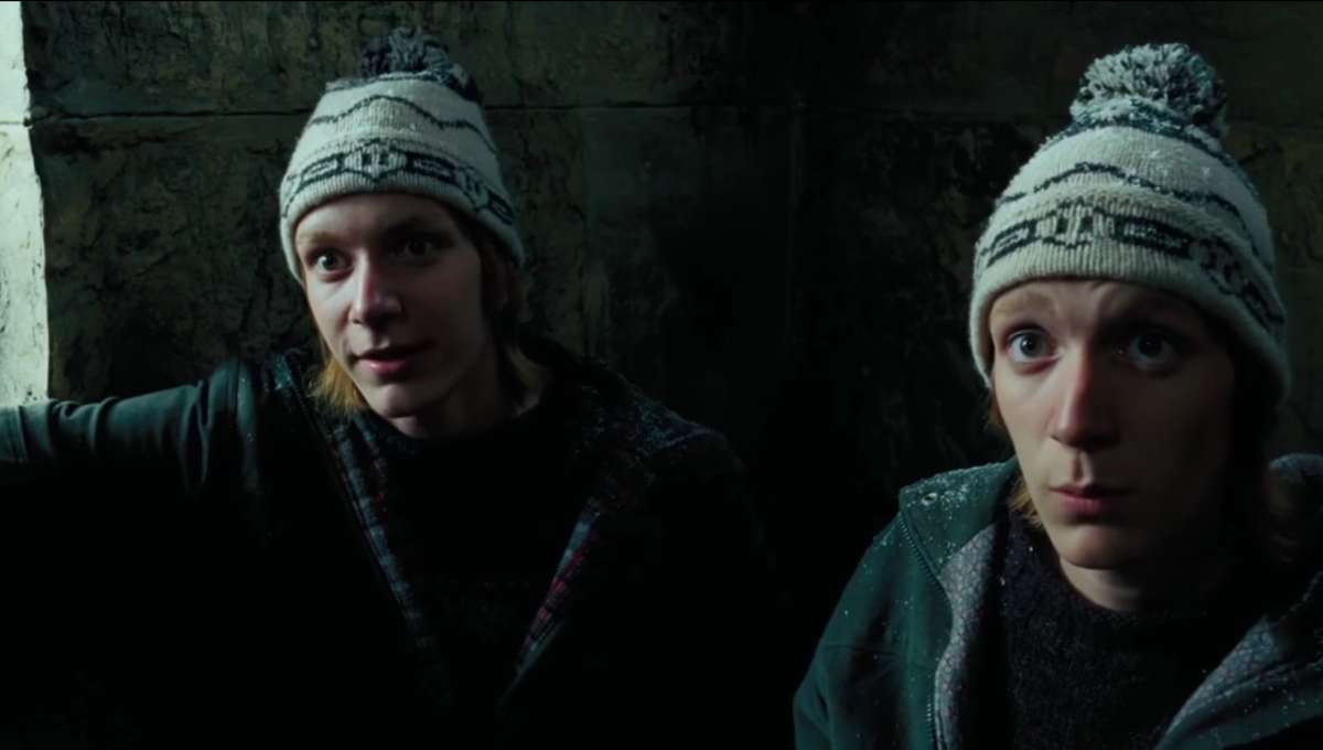 Fred and George Weasley Harry Potter and the Prisoner of Azkaban