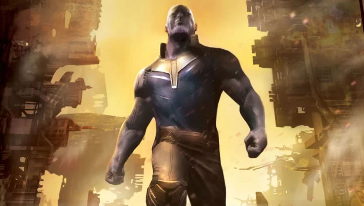 Thanos Titan Consumed Hero