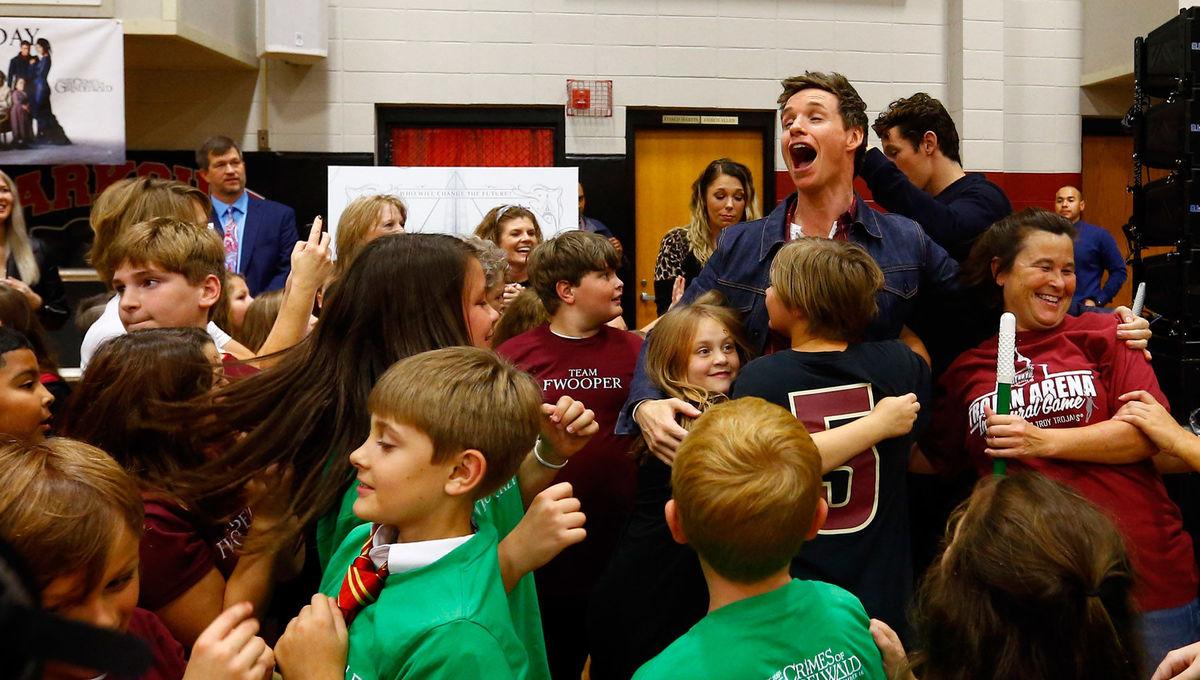 Parkside School, Fantastic Beasts event