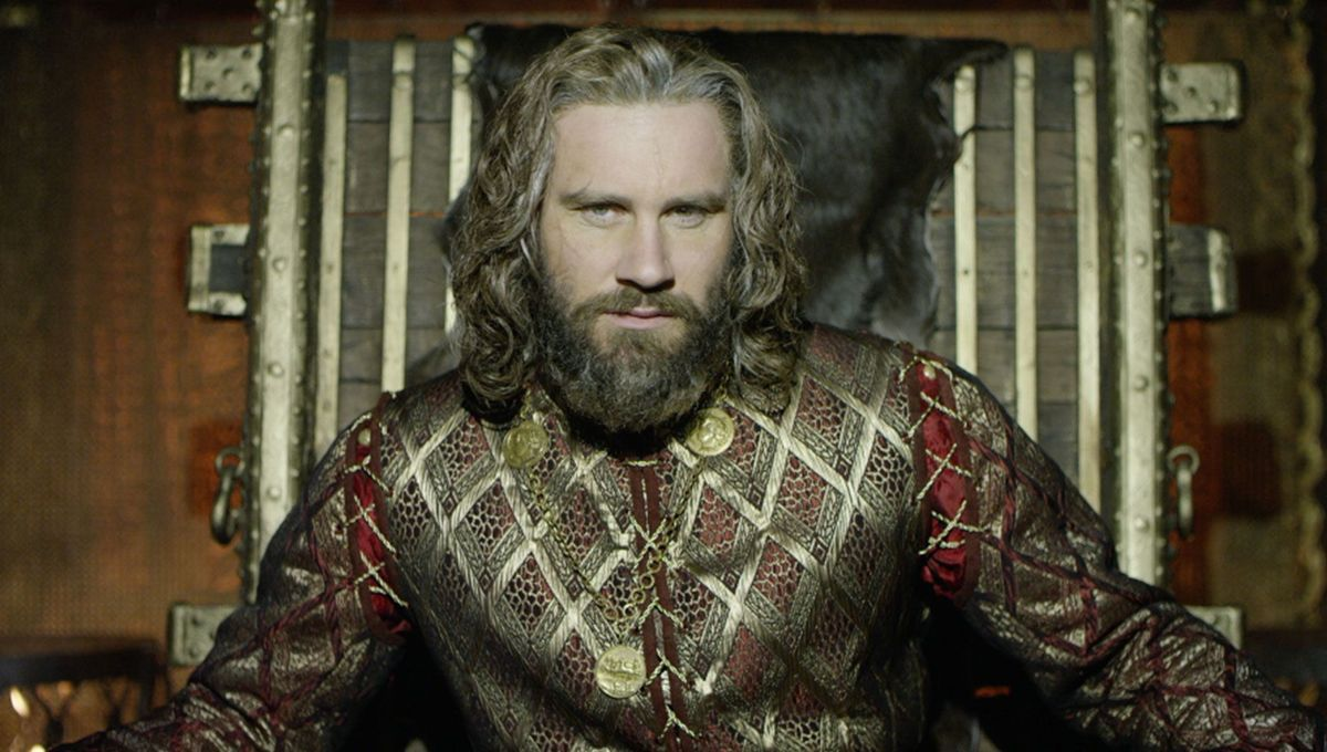 Duke Rollo of Normandy played by Clive Standen