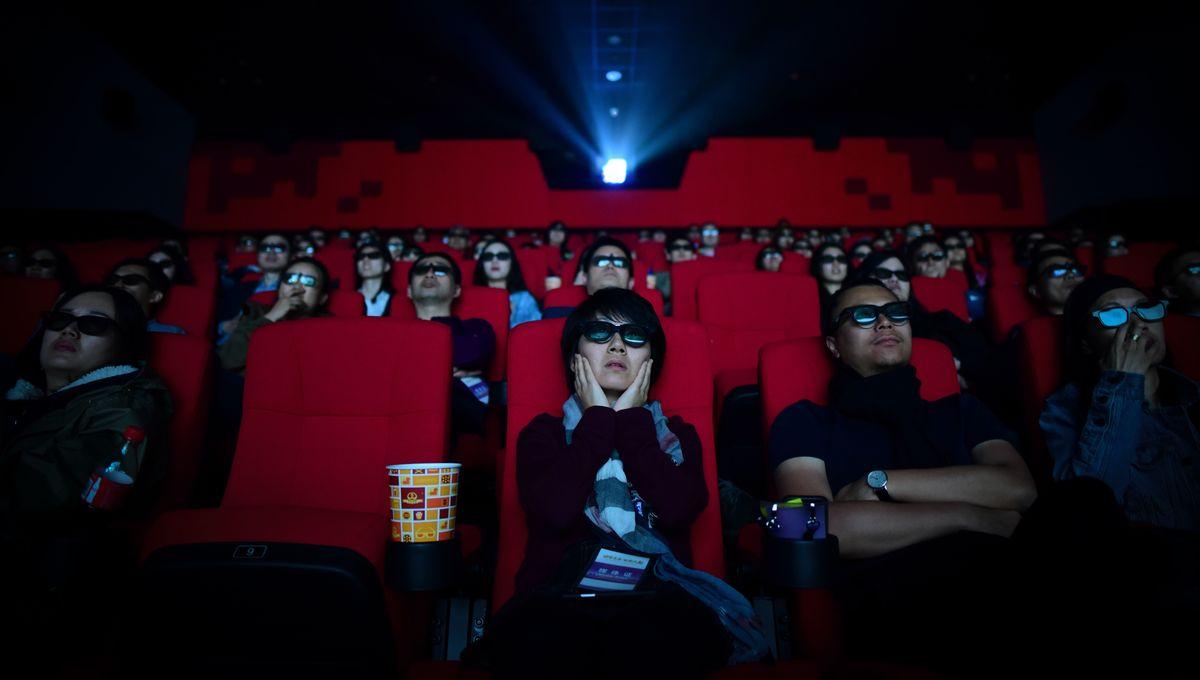 Getty Watching Movie
