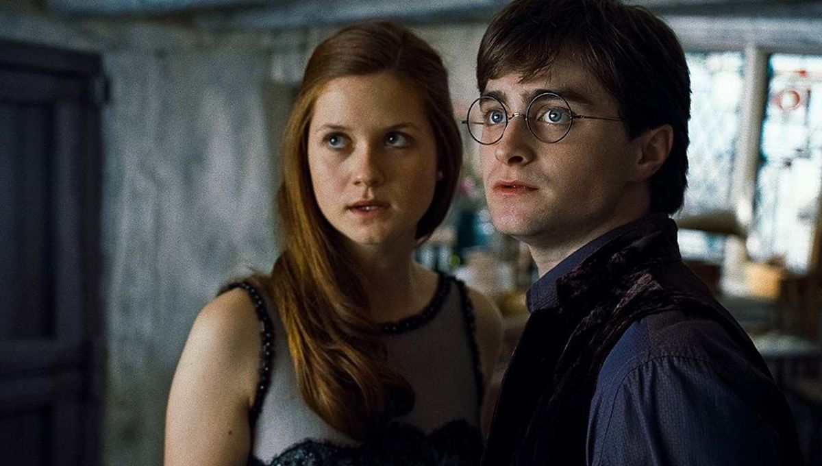 Harry Potter and the Deathly Hallows Part 1 Ginny Harry