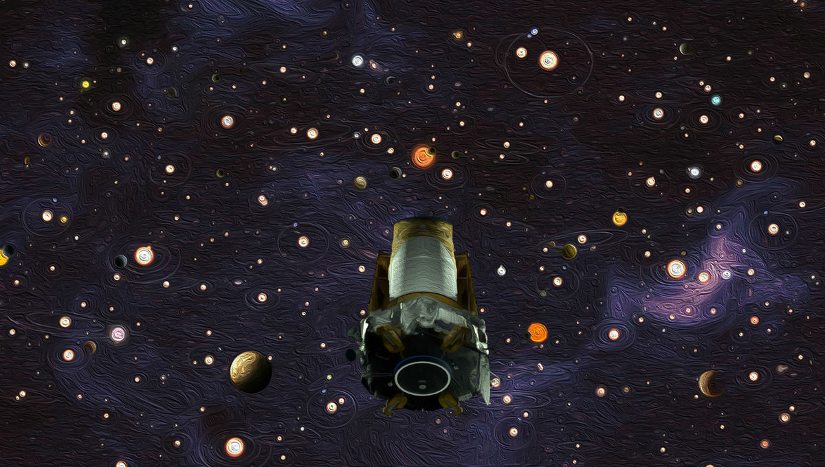 NASA image of Kepler