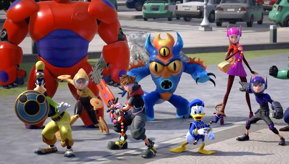 Kingdom Hearts III big hero 6