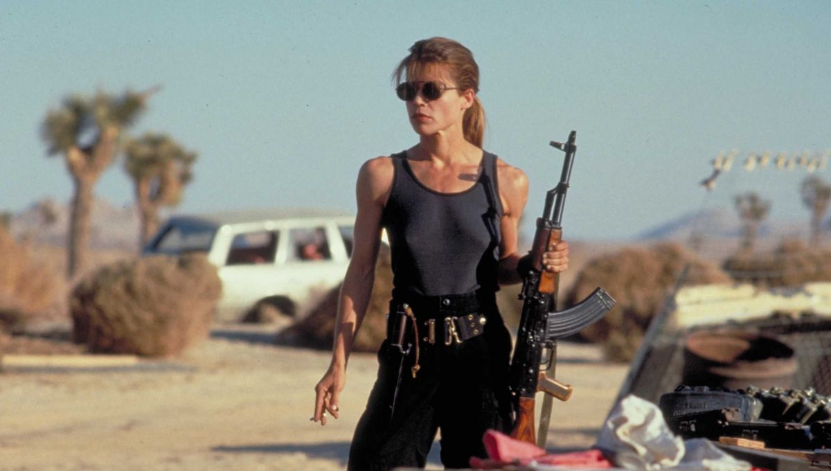 Linda Hamilton, Sarah Connor, The Terminator