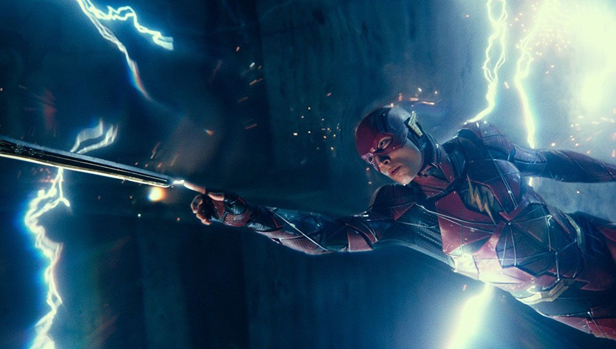 Ezra Miler The Flash Justice League
