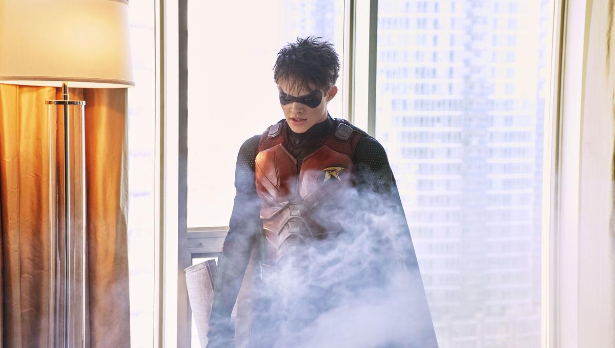 Jason Todd Robin DC Universe Titans Curran Walters