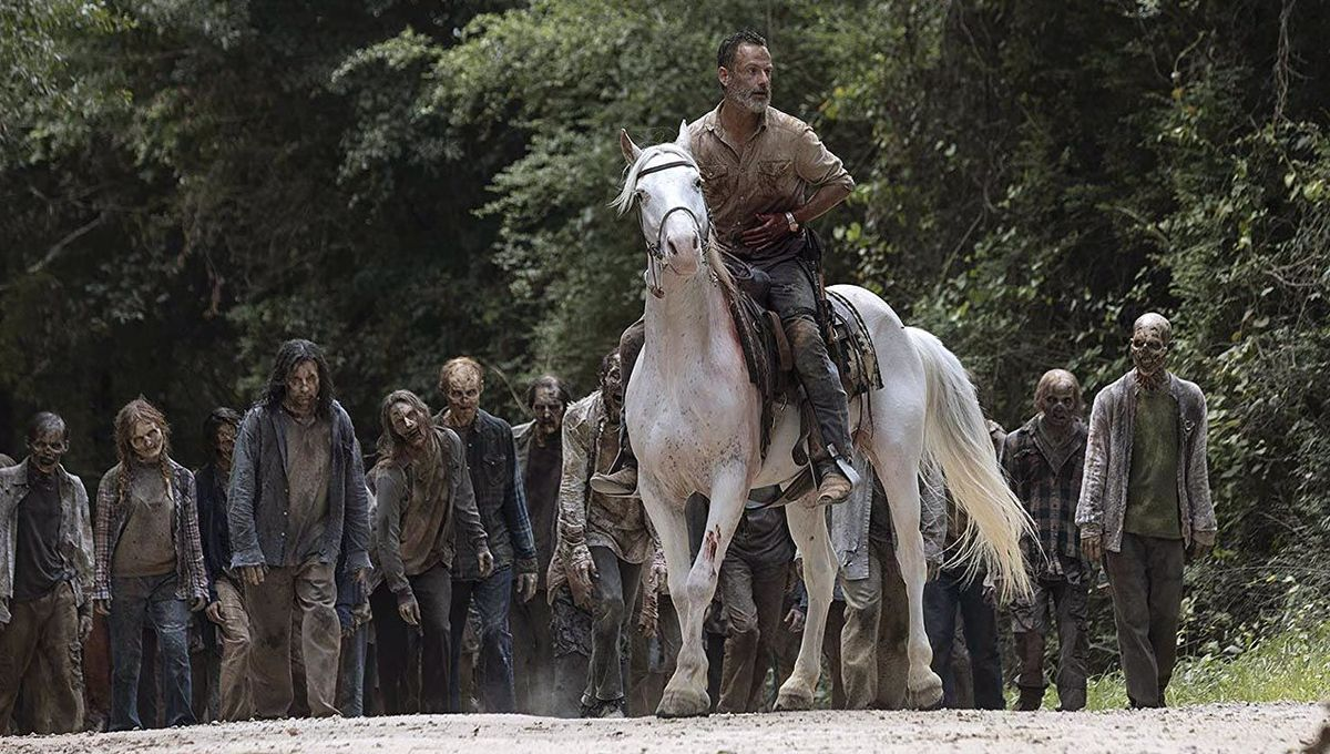 The Walking Dead Rick Grimes horse hero