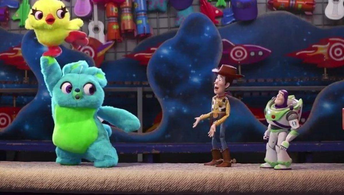 Toy Story 4 ducky bunny