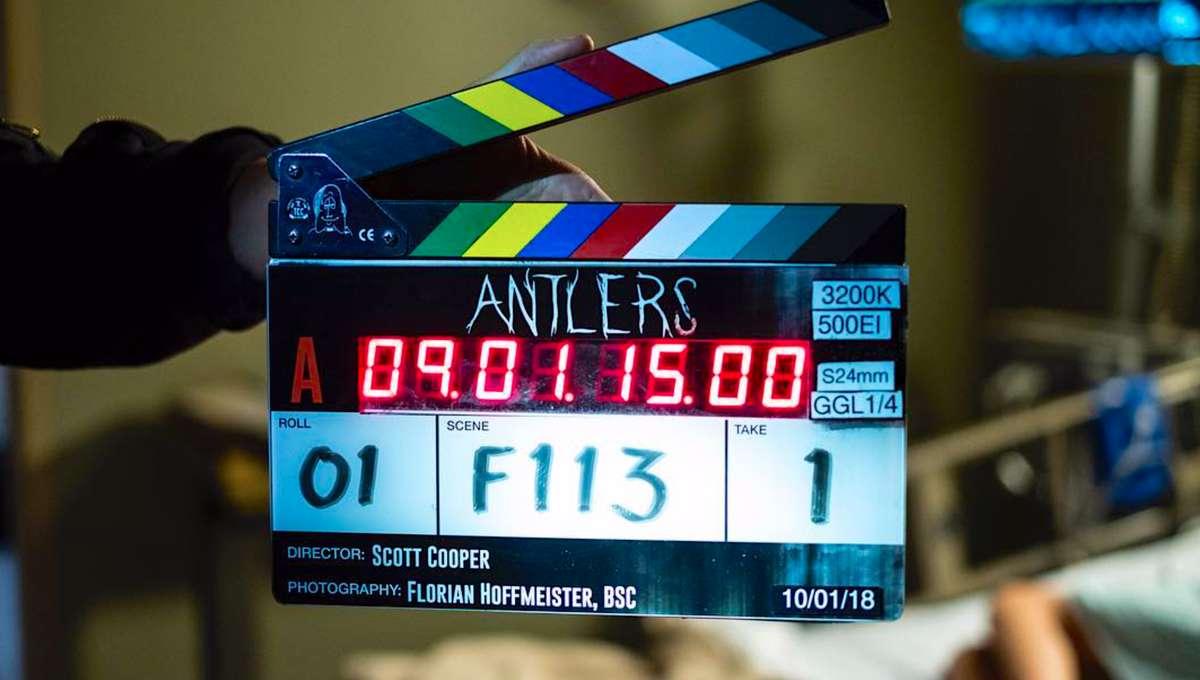 Antlers Guillermo del Toro