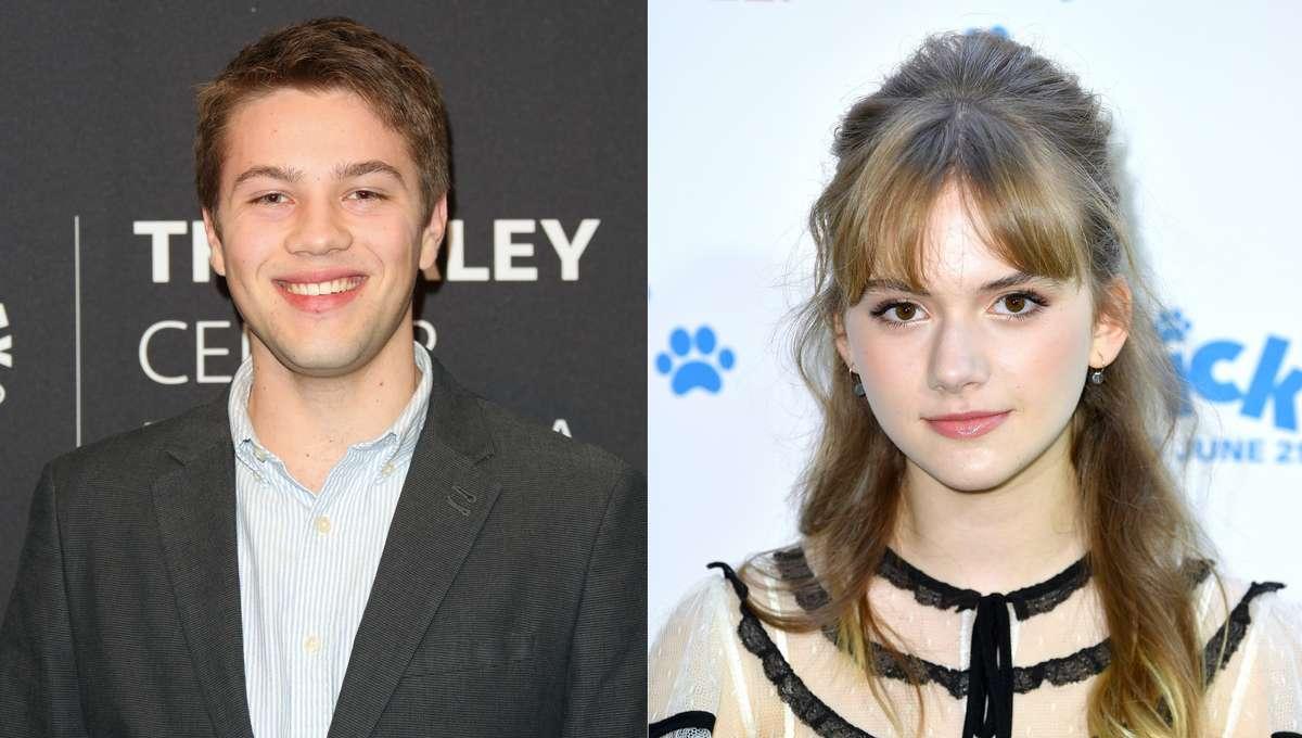Connor Jessup and Emilia Jones