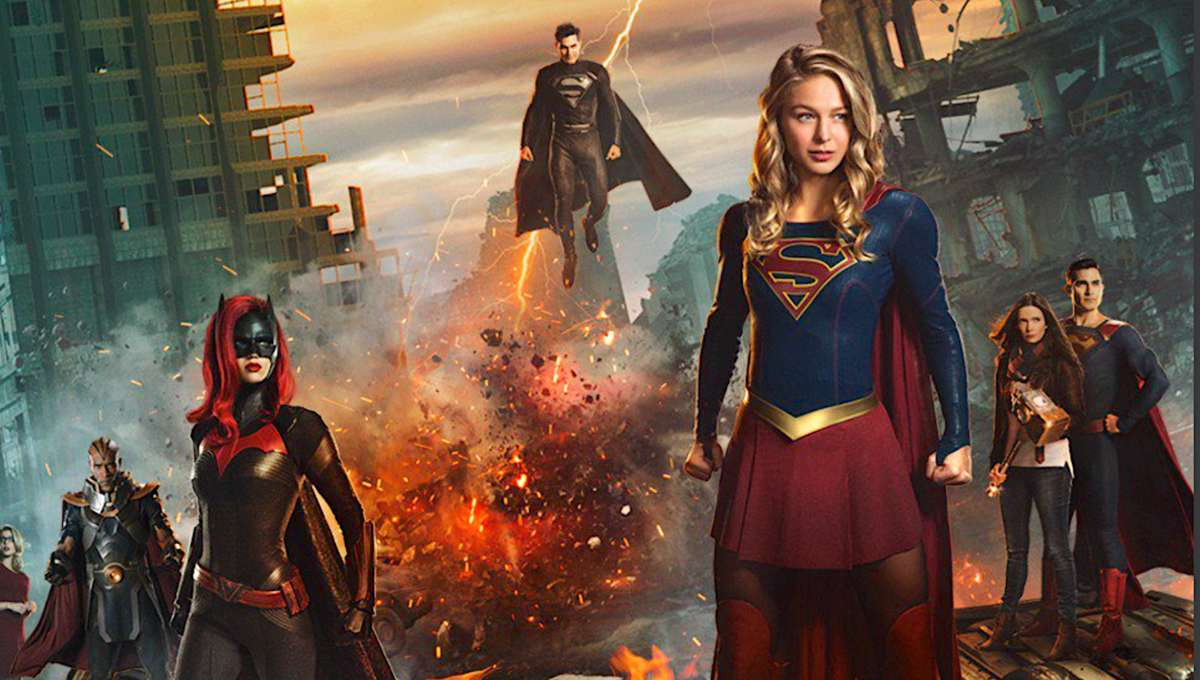 Elseworlds Poster via Supergirl on Twitter 2018