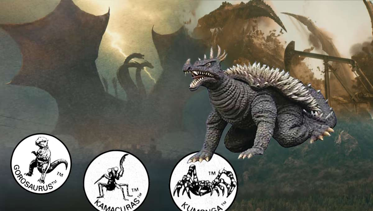 Godzilla New Monsters