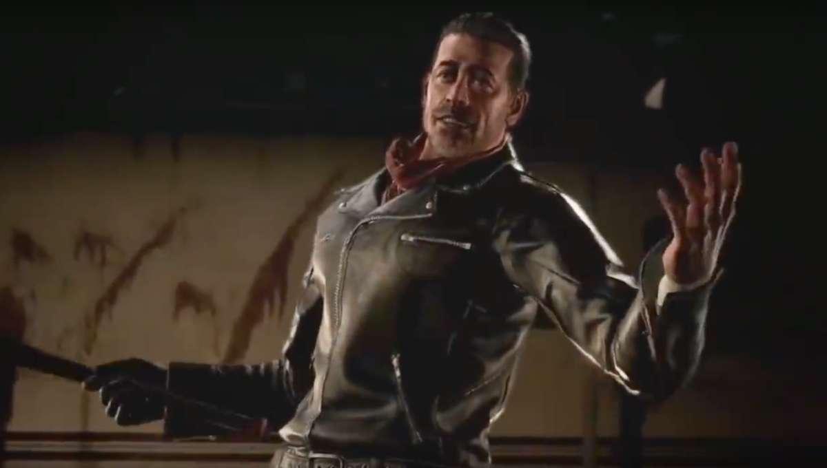 Negan Tekken 7 The Walking Dead