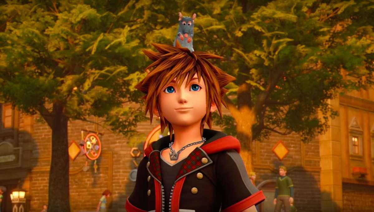 Kingdom Hearts III Sora Remy Ratatouille