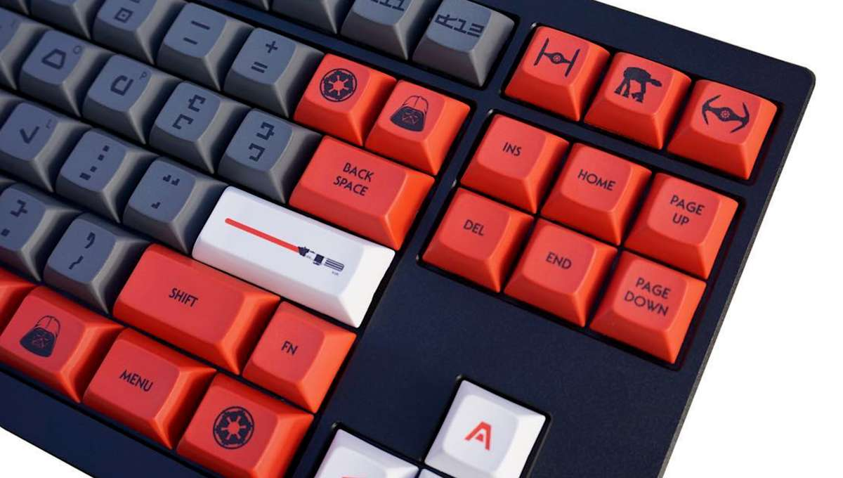 Star Wars Keyboard Aurebesh
