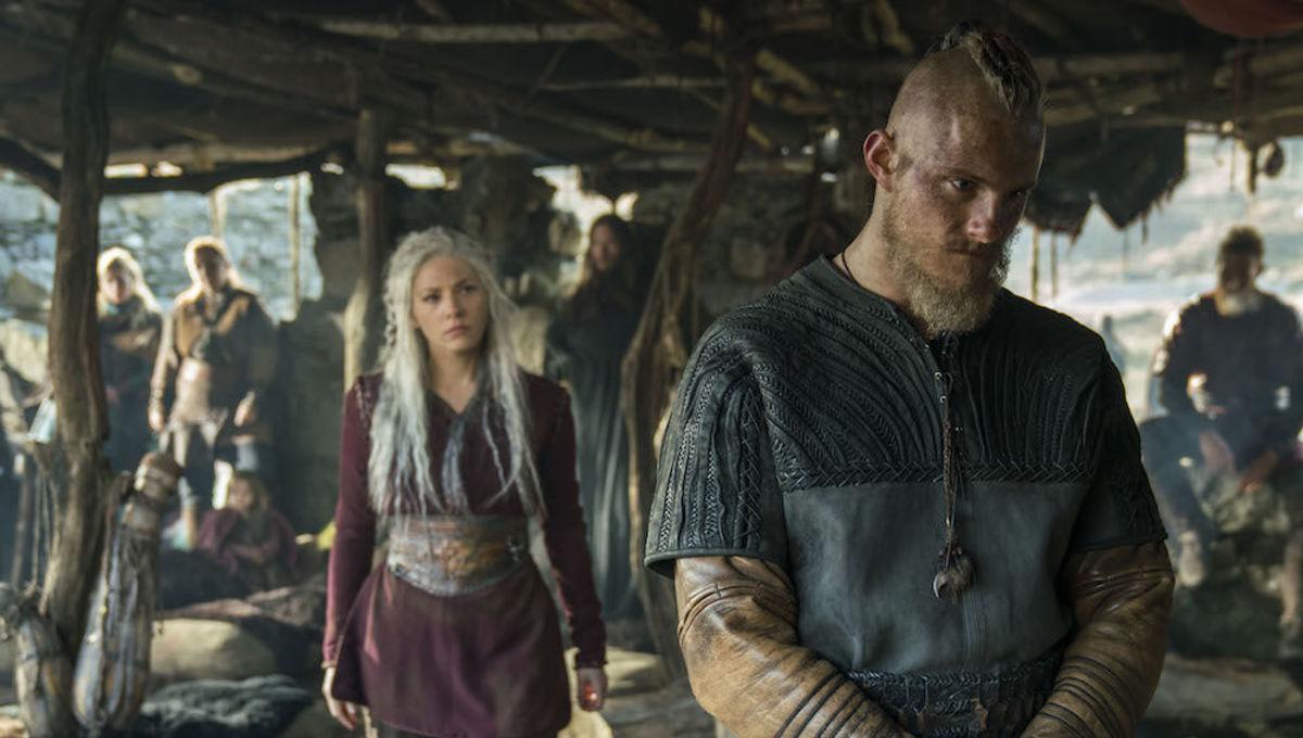 Vikings Season 5B Bjorn and Lagertha