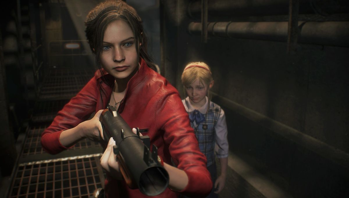 Resident Evil 2 Remake - Claire Redfield and Sherry