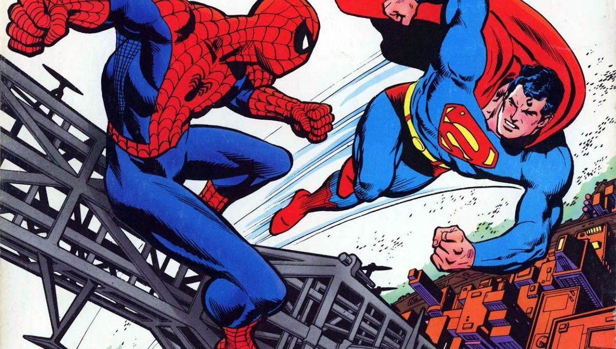 Behind the scenes of Marvel and DC's first superhero crossover ...