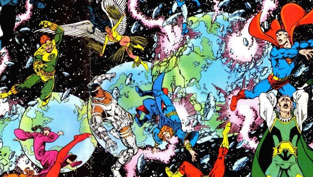 Crisis on Infinite Earths #12 (Written by Marv Wolfman, Art by George Perez and Jerry Ordway)