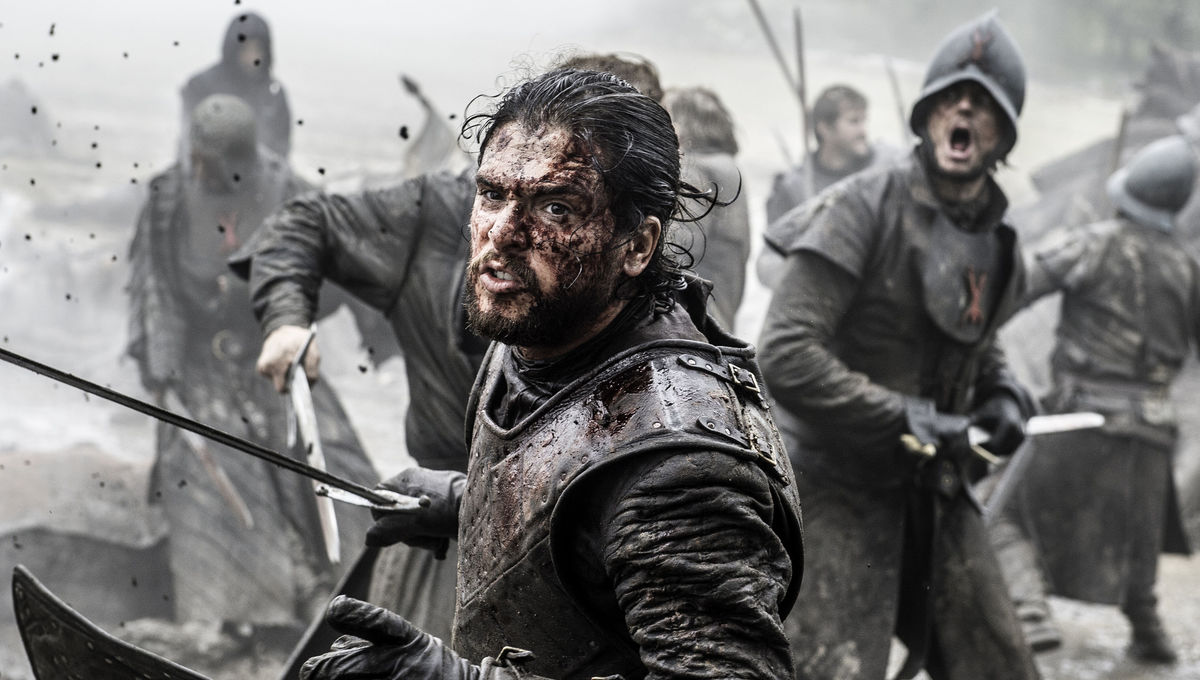 Game of Thrones Kit Harrington Jon Snow HBO press site