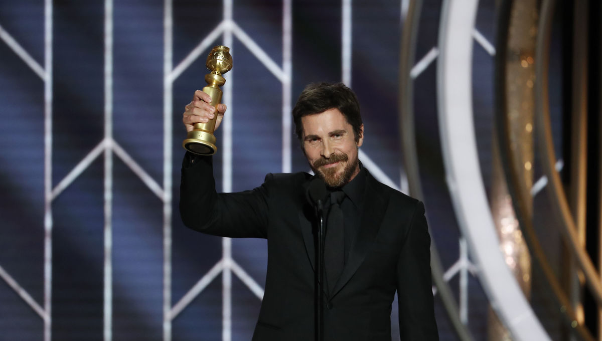 Christian Bale Golden Globes