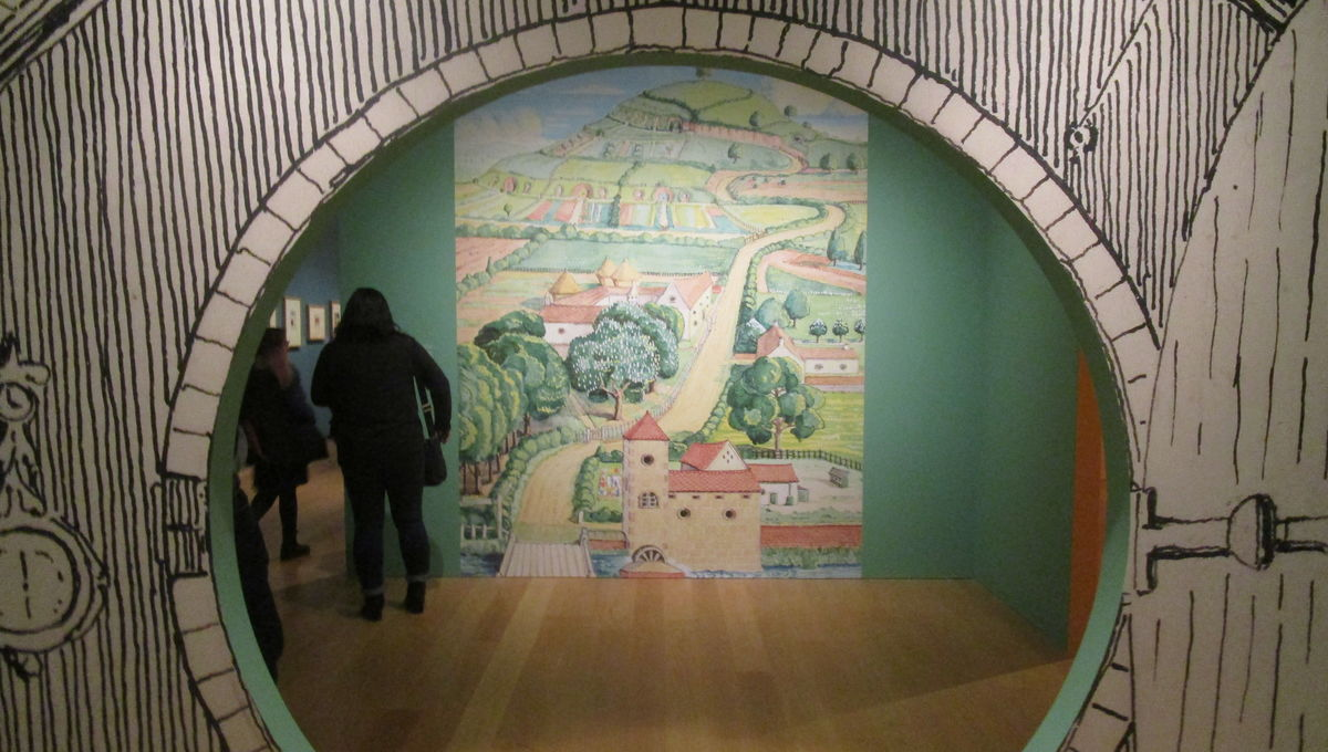 Tolkien: Maker of Middle-eath exhibit at the Morgan Library