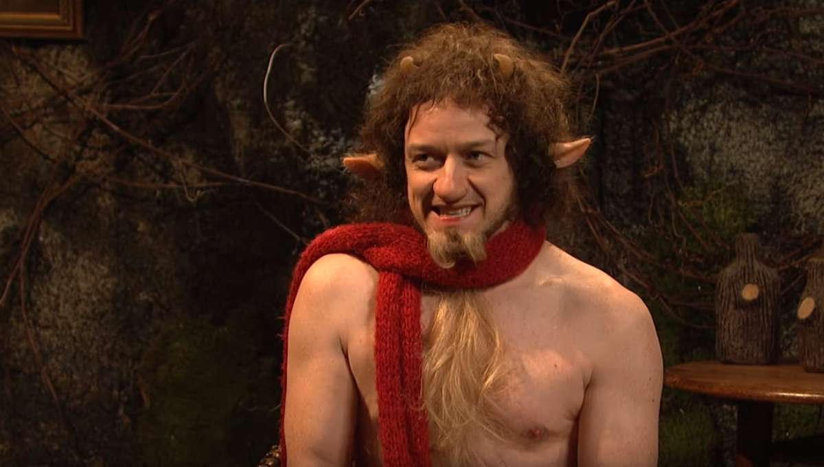 James McAvoy Mr. Tumnus SNL