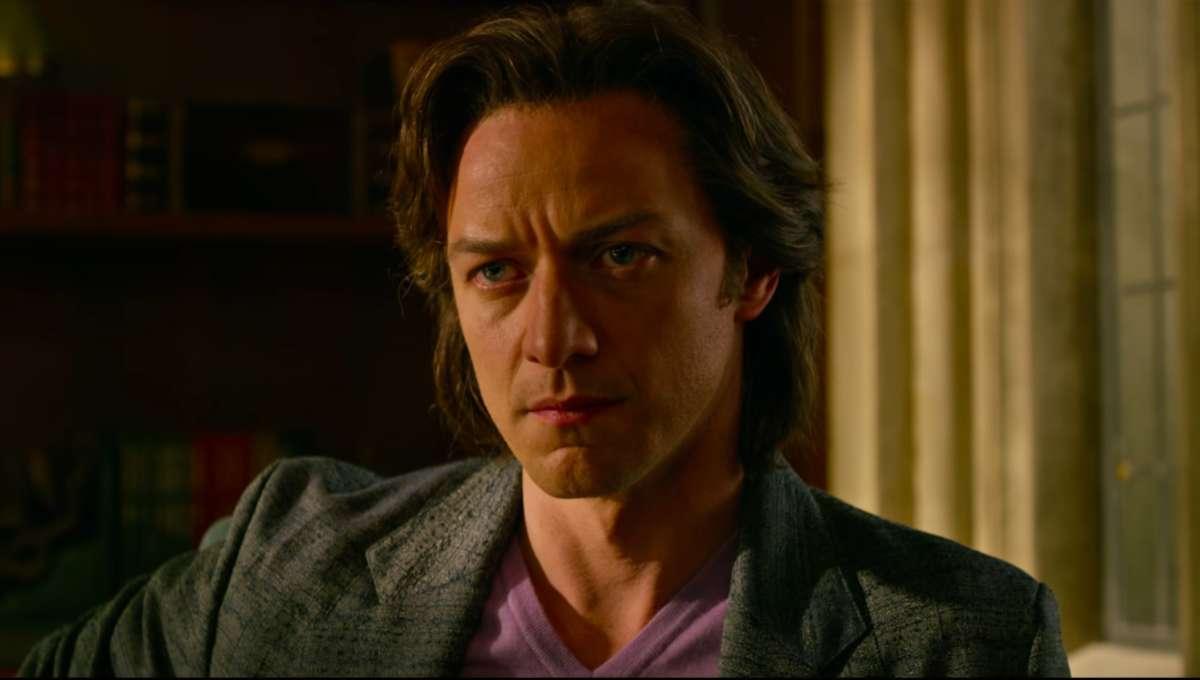 James McAvoy Charles Xavier X-Men: Apocalypse