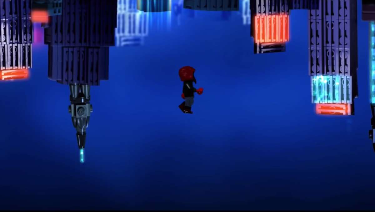Into the Spider-Verse LEGO Huxley Berg Studios