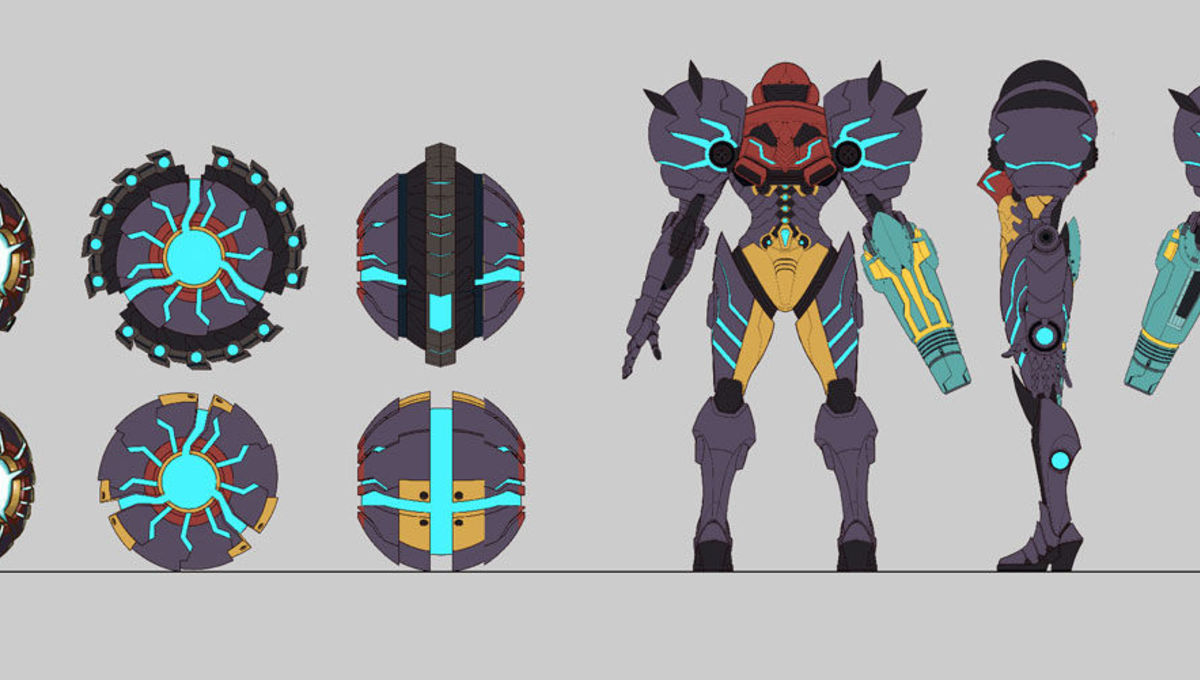 Metroid Prime sketches