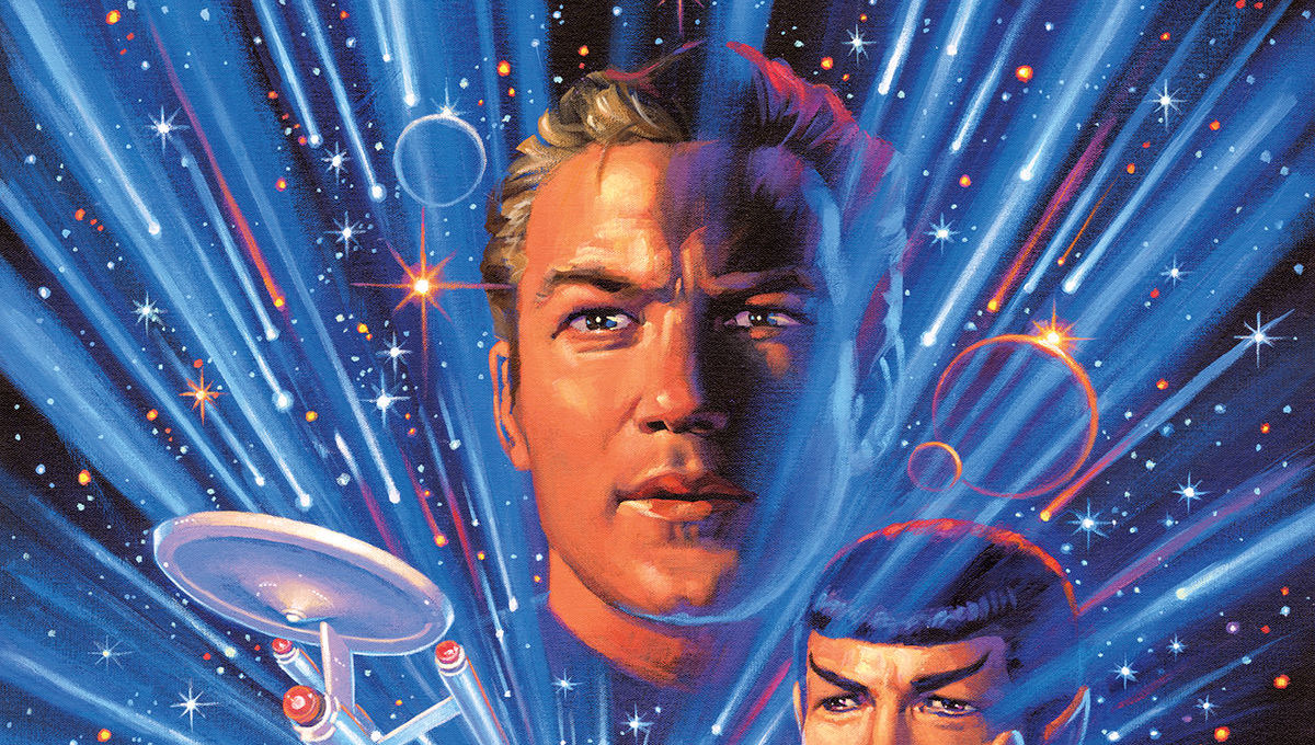 Star Trek - Year Five #1 - Cover by Greg Hildebrandt