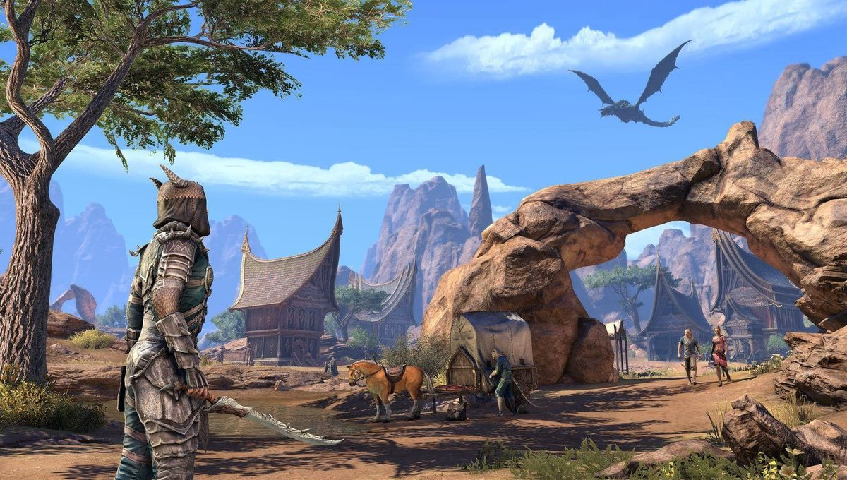 Gaming The Elder Scrolls Is Heading To Elsweyr Westworld Game