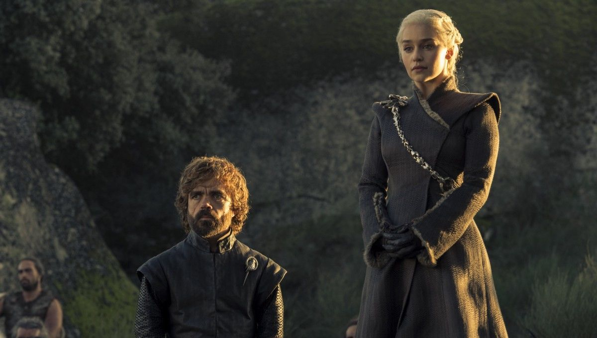 Game of Thrones Emilia Clarke Peter Dinklage
