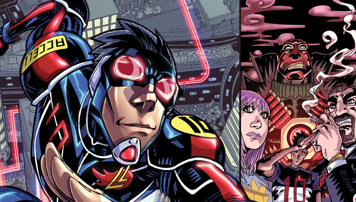 Accell #1 Review Cover Feature