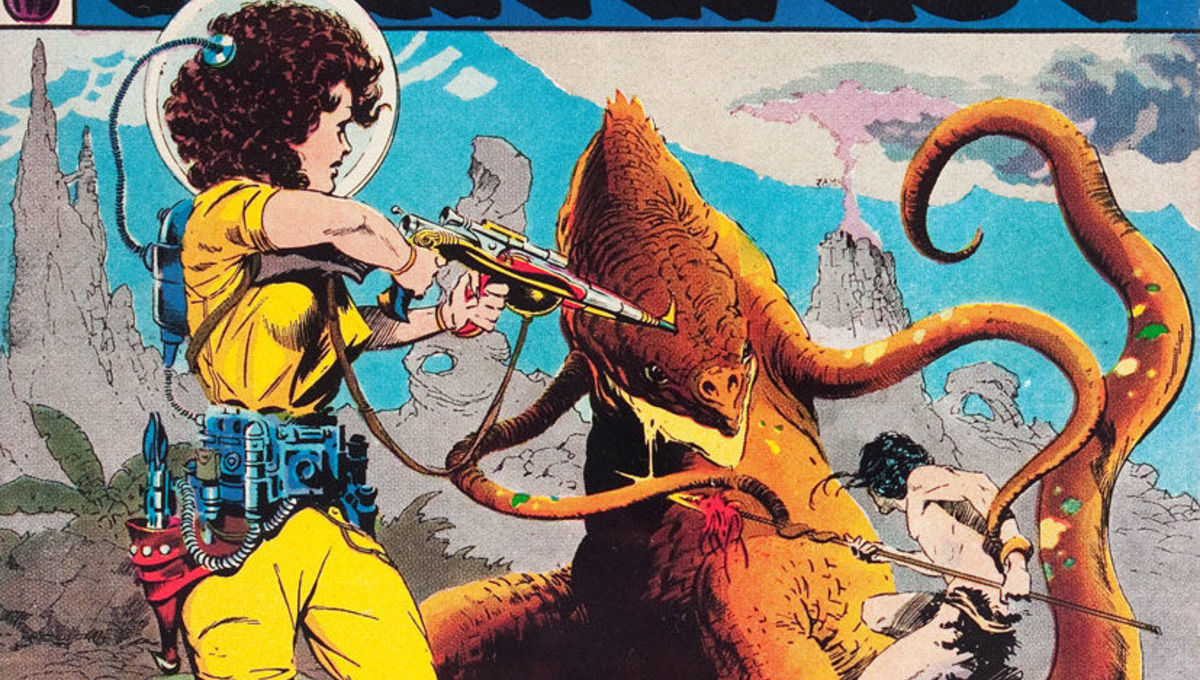 EC Comics Weird Fantasy No. 21 Cover