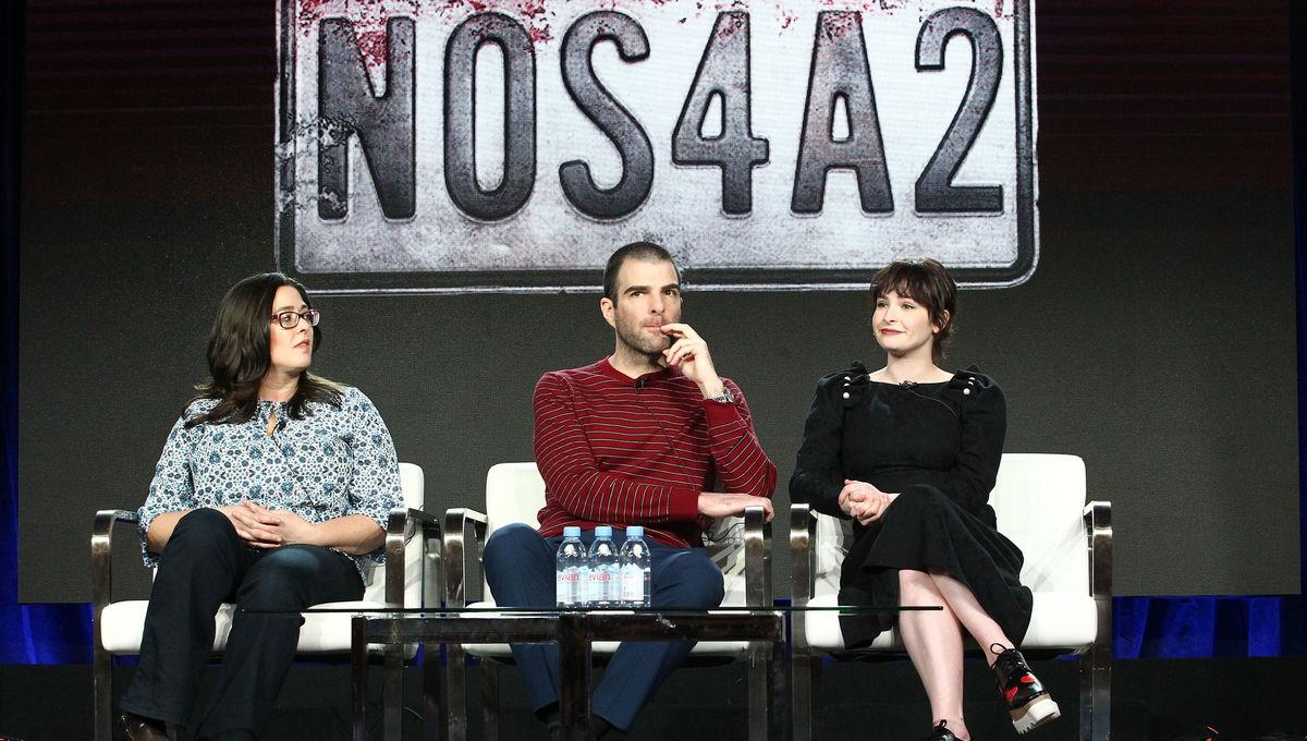 Zachary Quinto NOS4A2 panel TCA 2019