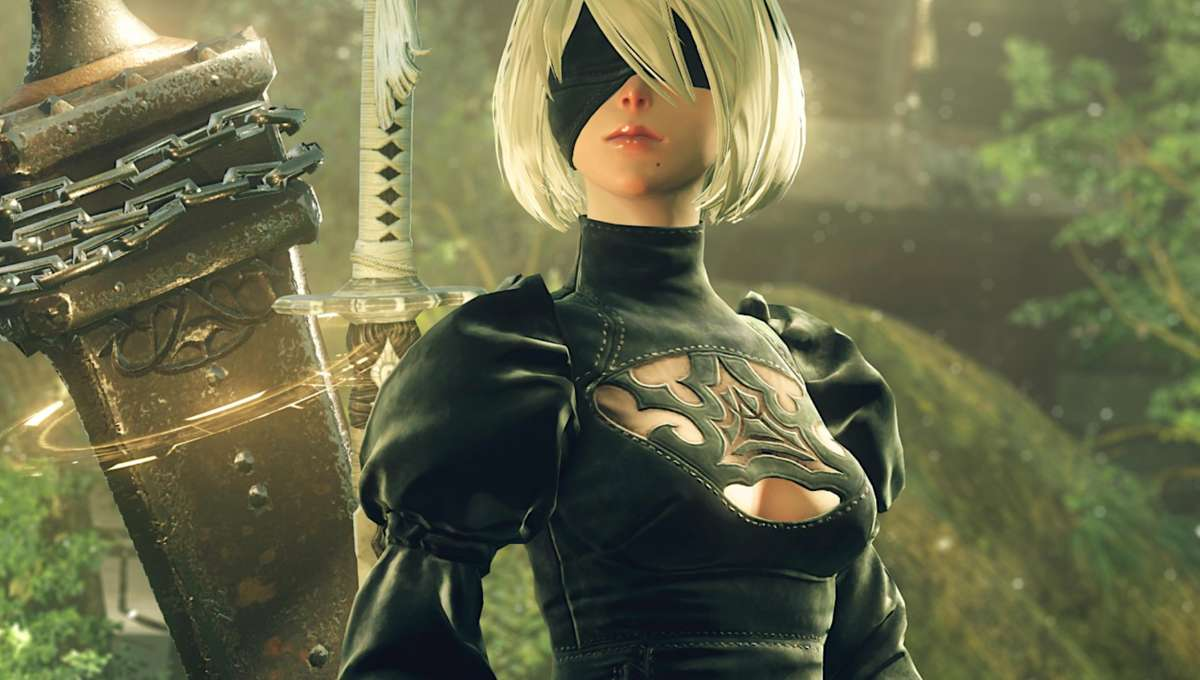 Nier Automata 2B via Platinum Games website 2019