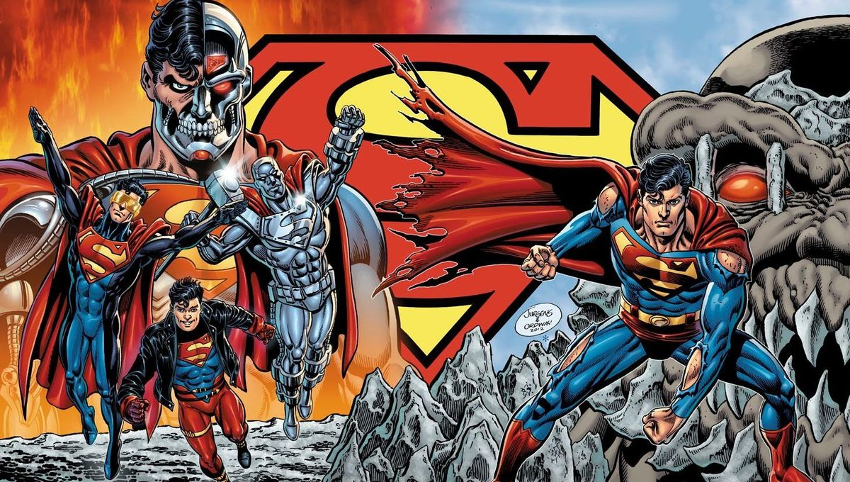 Death of Superman Graphic Novel (Art by Dan Jurgens and Jerry Ordway)