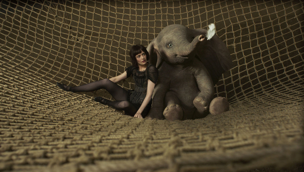 Eva Green Dumbo Tim Burton Disney