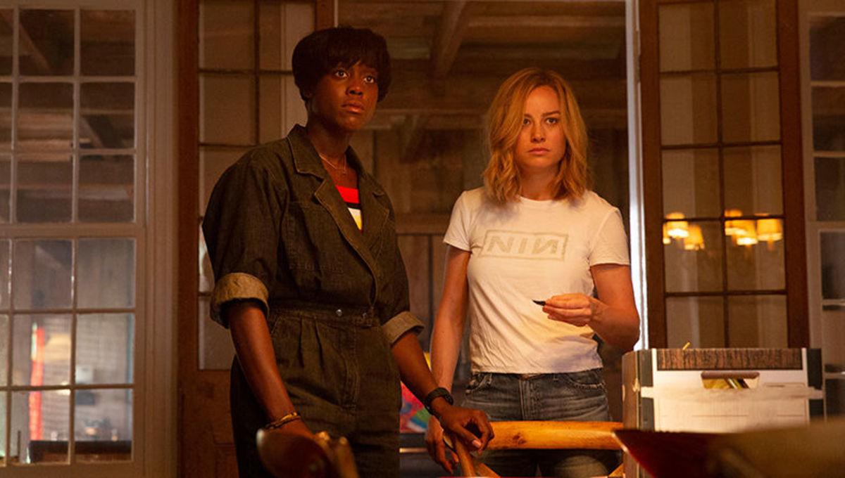 Captain Marvel with Maria Rambeaux