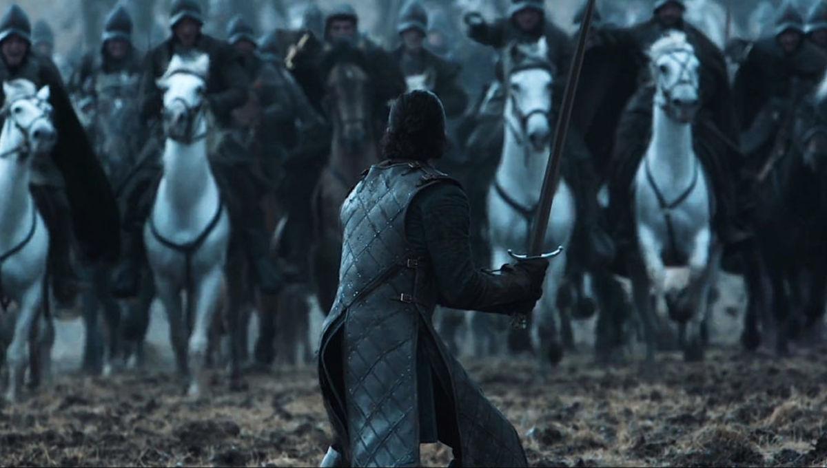 Game of Thrones Jon Snow Battle of the Bastards