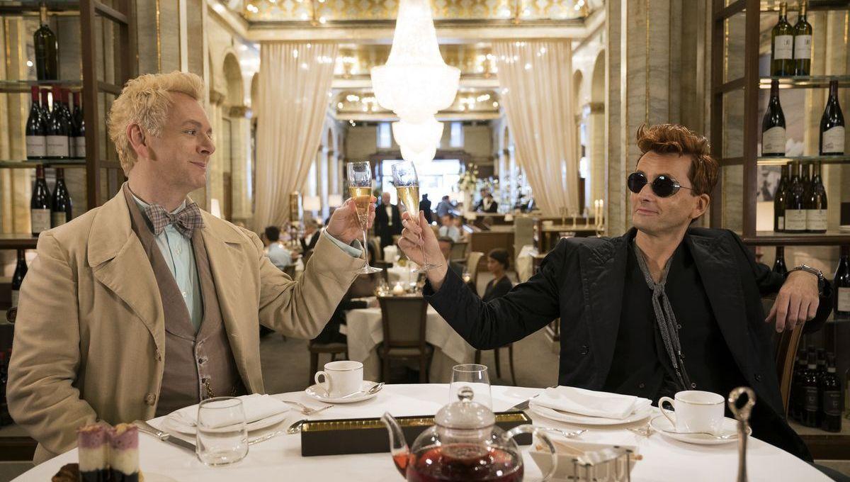 Good Omens, Michael Sheen and David Tennant