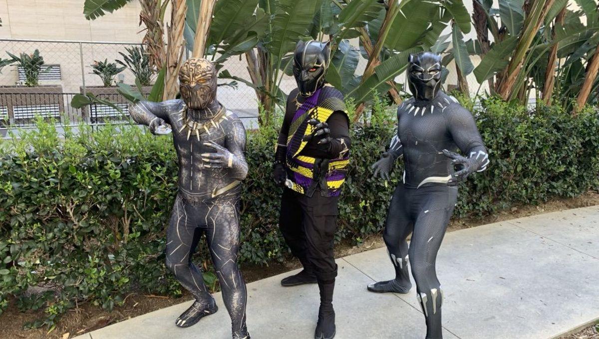 Killmonger T'Chaka and T'Challa