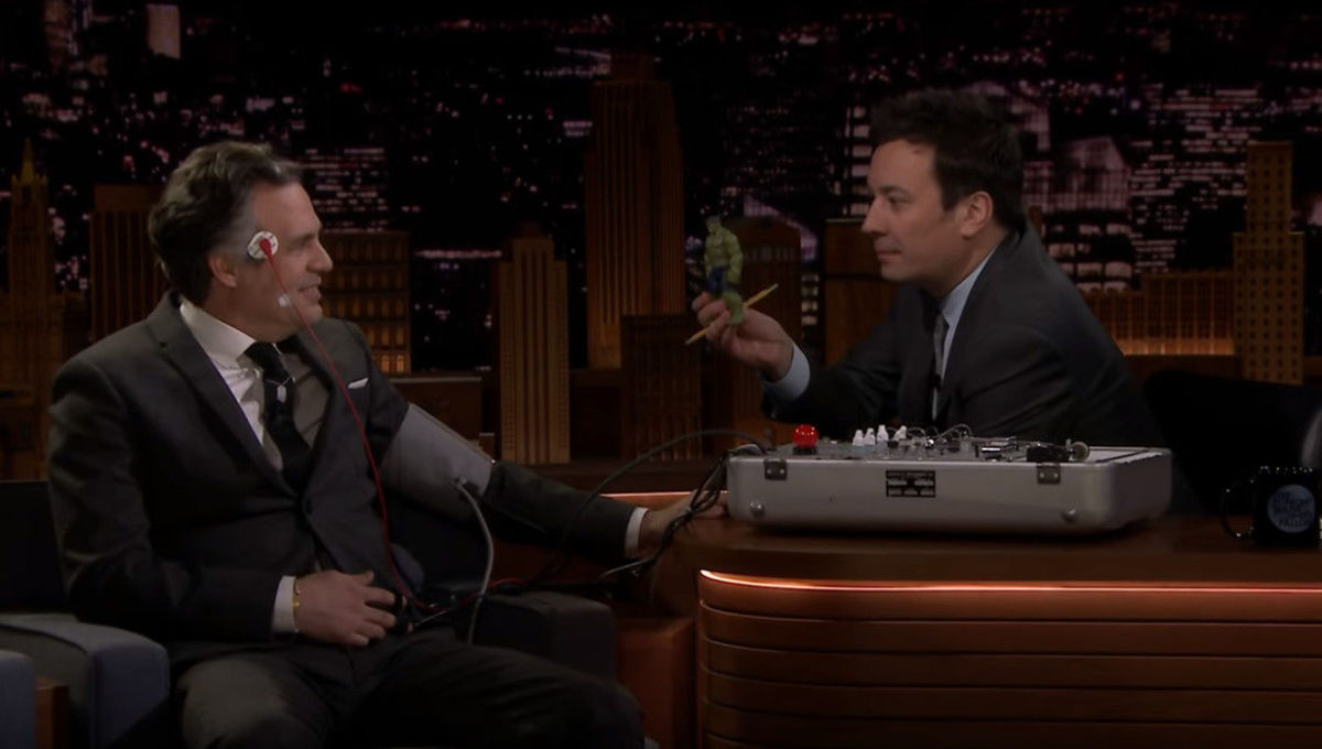 Mark Ruffalo Jimmy Fallon Tonight Show March 2019