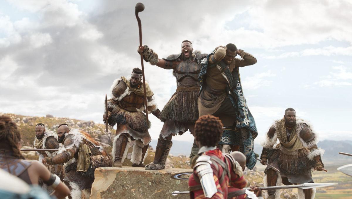 Winston Duke's M'Baku in Black Panther