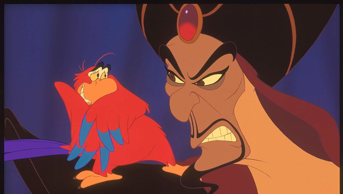 Iago and Jafar Aladdin